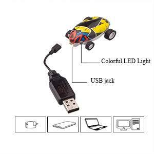 MINI 360 ROTATING LASER CHARIOT HIGH-SPEED CAR TOYS
