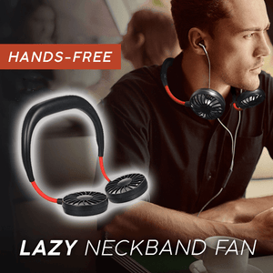 BUY 2 FREE SHIPPING-2019 Summer New  Lazy Neckband Fan