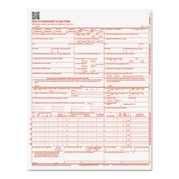 Paris Corporation CMS Forms, 8 1/2 x 11, 250 Forms