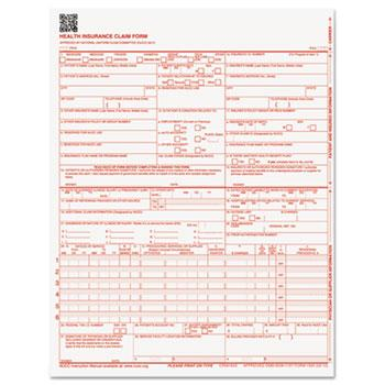 Paris Corporation CMS Forms, 8 1/2 x 11, 500/Ream