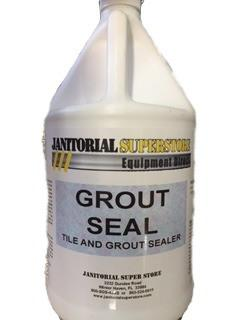 Super Grout Seal Gallon Janitorial Superstore Online I Your - Commercial grout sealer