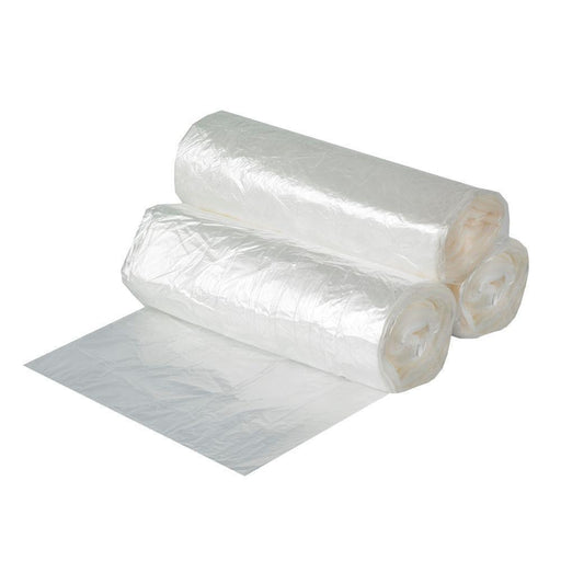 "24""x 24"" Clear Garbage Bag Liners 1,000cs, 7-10 Gal"