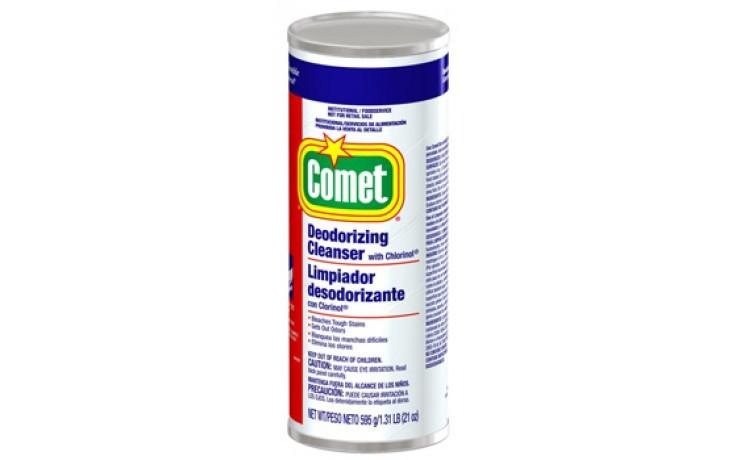 Comet Cleanser / Disinfectant Powder 21 oz Can. 24/Case