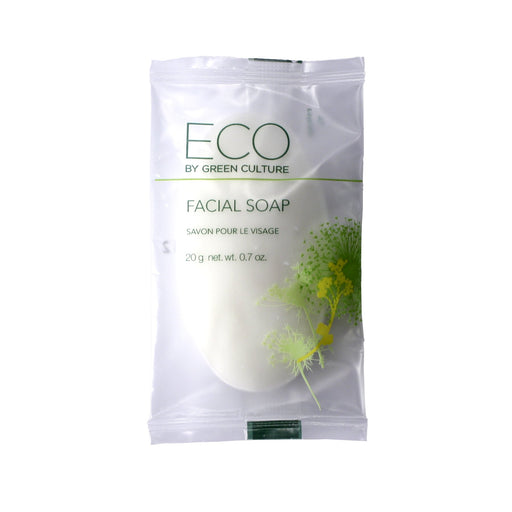 Eco By Green Culture Facial Soap Bar, 250/Pack