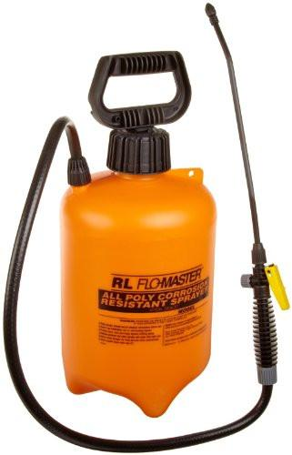 RL Flo-Master Orange Color, 2 gallon Polyethylene Translucent Acid-Resistant Standard Sprayer