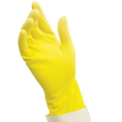Latex Natural Rubber Reusable Gloves 1 Pair