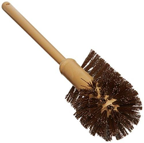 Rubbermaid Commercial Toilet Bowl Brush with Plastic Handle, Brown