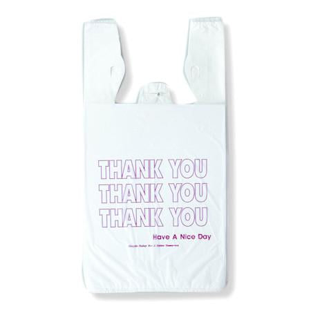 """Thank You"" T-Shirt Bags"