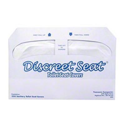 1/2 Fold White Toilet Seat Cover 20/250cs