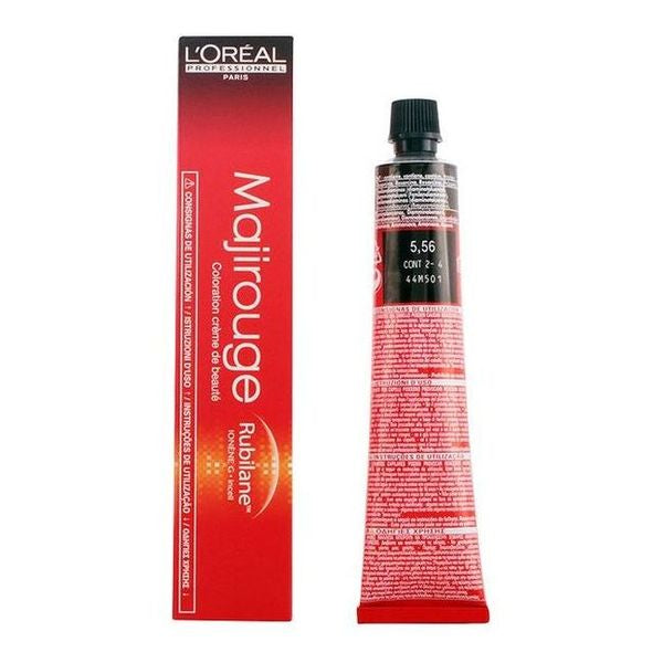 Teinture permanente Majirouge L'Oreal Expert Professionnel (50 ml)