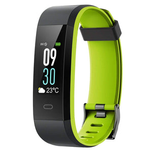holyhigh Fitness Tracker Black Green HolyHigh Fitness Tracker