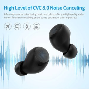 holyhigh earbuds HolyHigh 48H Playtime CVC 8.0 Noise Cancelling Earbuds