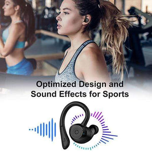 holyhigh earbuds HolyHigh Bluetooth 5.0 Wireless Sports Earbuds Waterproof IPX7 Running