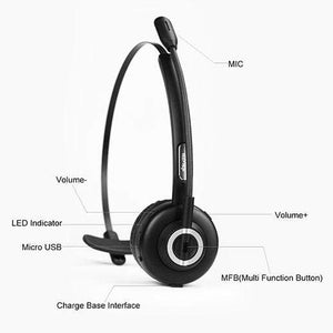 holyhigh Headphone HolyHigh Bluetooth Headset with Mic