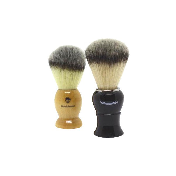 Black-and -brown-brushes-wooden-shaving-brushes