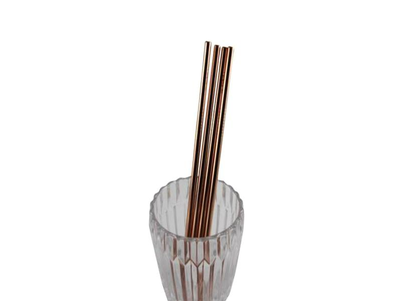 Foreva_Stainless_Steel_Rose_Gold_Straight_Straws_4_pack_in_glass