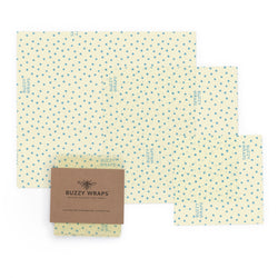 100% Cotton Beeswax Food Wrap Set