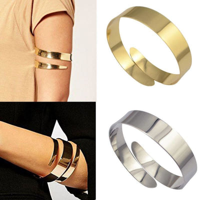 100% new cool unisex solid color Egyptian Cleopatra vortex snake upper arm cuff armband armband bracelet - 200000146