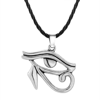 2019 New Pharaoh Horus Eye Men Necklace Women Vintage Hawk Egyptian Amulet Pendant Necklace Egypt Jewelry Accessories - 200000162