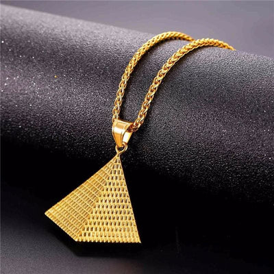 Collier Pyramide - collier egyptien