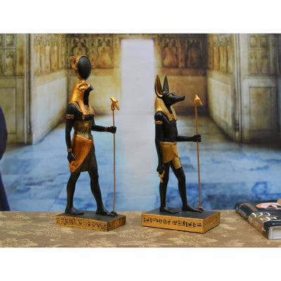Figurine Egyptienne : Dieu Anubis - figurine egyptienne