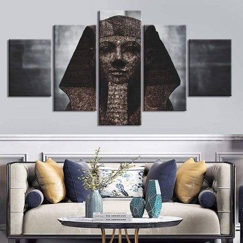Poster Canvas Paintings Modular Decor Room 5 Piece Egyptian culture Picture Wall Art Framed HD Prints Home Decor - 1704