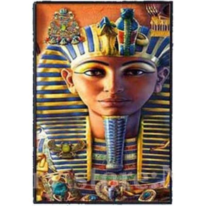 Egyptian God New 3d Diamond embroidery 5D DIY Diamond Painting Mosaic Round/square Rhinestone Embroidery Cross Stitch gift ZC386 - B /