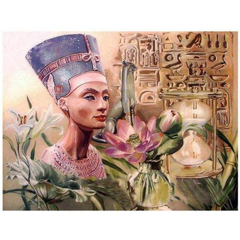 3d diy rhinestones Egyptian Queen diamond painting embroidery full square/round diamond mosaic home decoration JS4900 - 200003953