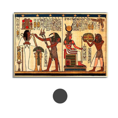 Retro Classical with Elements of Egyptian Ancient History Posters and Prints Wall Art Home Decoration Canvas Painting - 10x15cm No Frame / A