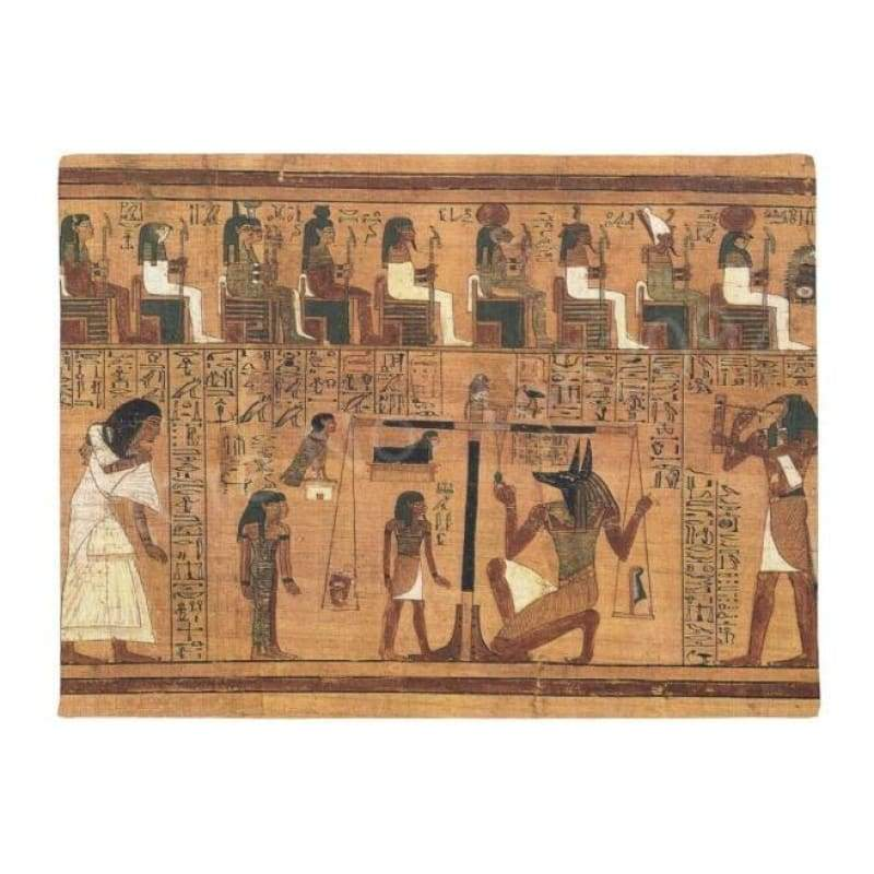 TAPIS EGYPTIEN - Book of Dead / 40x60cm - TAPIS EGYPTIEN