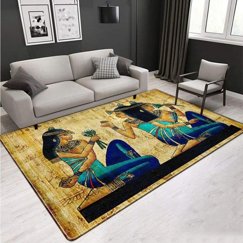 TAPIS EGYPTIEN - Y1115 / 91x152(36x60in) - TAPIS EGYPTIEN