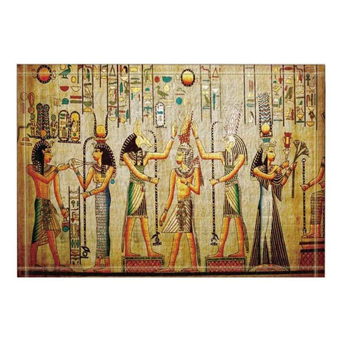 Egyptian Pharaoh Bath Rugs NonSlip Doormat Floor Entryways Outdoor Indoor Front Door Mat Kids Bath Mat Bathroom - 40504