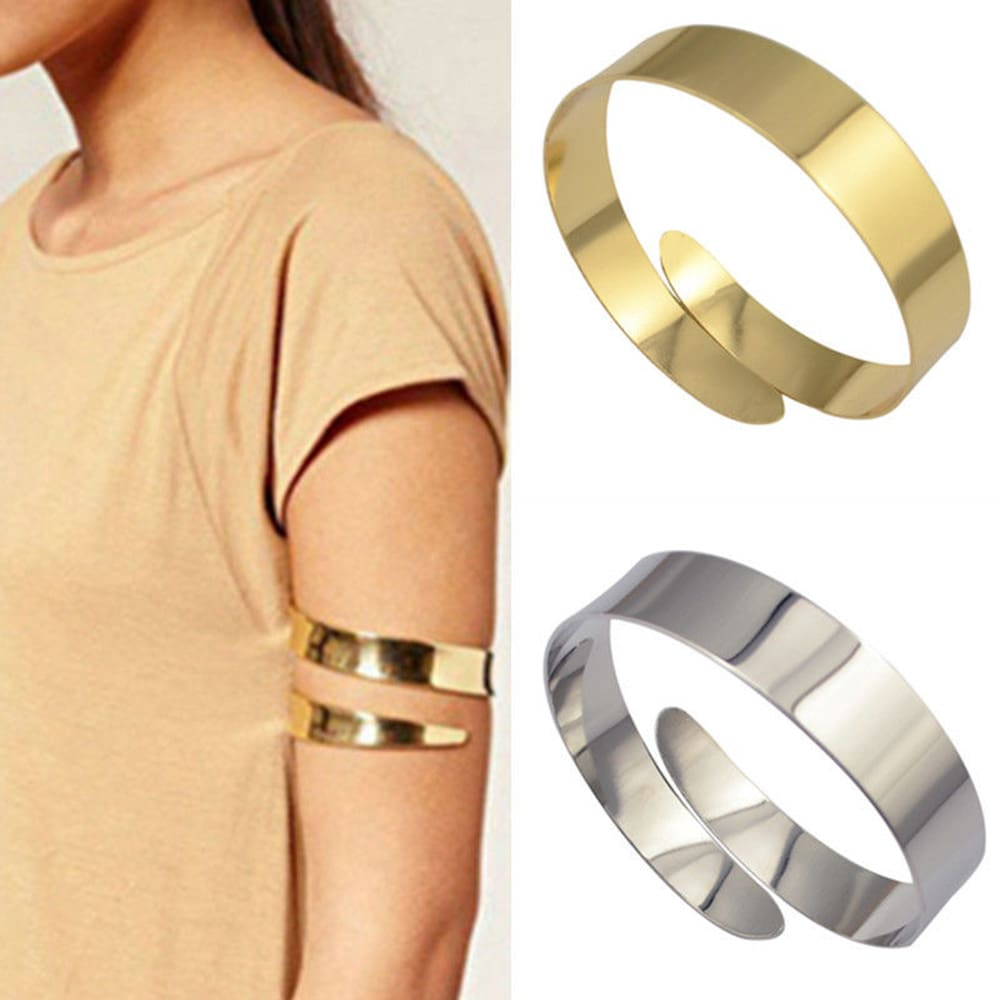 100% new cool unisex solid color Egyptian Cleopatra vortex snake upper arm cuff armband armband bracelet