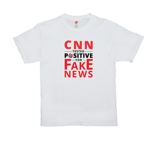 """CNN Tested Positive for Fake News"" Men's T-Shirt"