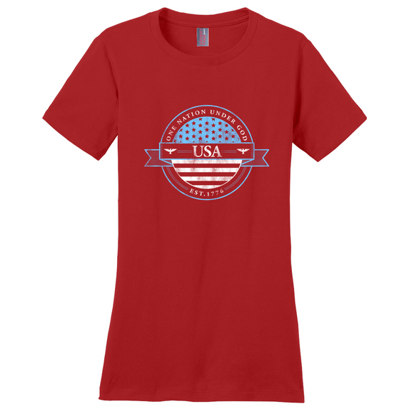 """One Nation Under God"" Women's T-Shirt"