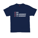 God, 2nd Amendment, 1st Amendment Men's T-Shirt