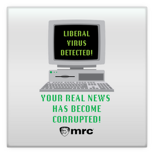 """Liberal Virus Detected"" Magnet"