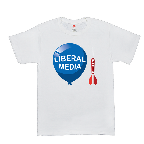 Facts and the Liberal Media Men's T-Shirt