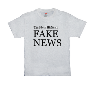 """The Liberal Media are Fake News"" Men's T-Shirt"