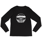 In Search of Real News Long Sleeve Shirt