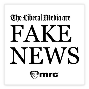 """The Liberal Media Are Fake News"" Magnet"
