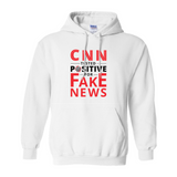 """CNN Tested Positive for Fake News"" Hoodie"