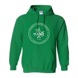 """No Kissing Under the Mistletoe"" Hoodie"