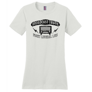 """Broadcast Truth"" Women's T-Shirt"