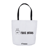 """MRC Watchdog Doesn't Like Fake News"" Tote Bag"