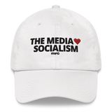 """The Media Love Socialism"" Baseball Cap"