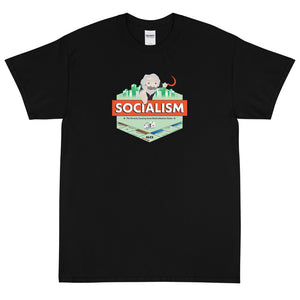 """Socialism Redistribution Game"" Men's T-Shirt"
