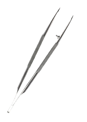 B&L Jetip Instrument Tissue Forcep
