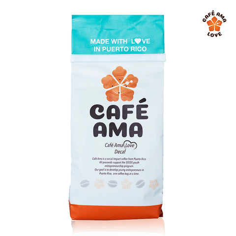 Café Ama Love Blend, Decaf, 8 oz.