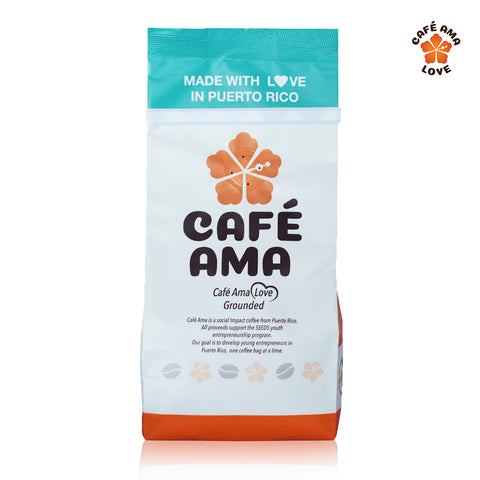 Café Ama Love Blend, Ground, 8 oz.
